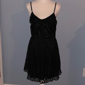 New Divided H&M lace black dress LBD